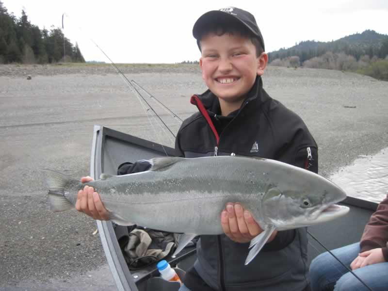 Eel river brice dusi sport fishing for northern california for Steelhead fishing california